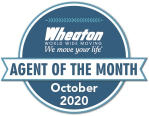Wheaton Worldwide Agent of the Month- Long distance movers